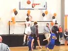 Soph basketball star surprised to hit milestone