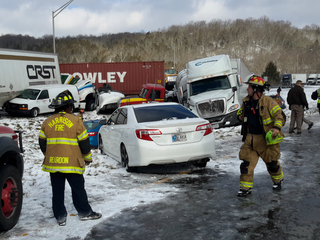 Driver in I-74 pileup: Mystery man saved lives