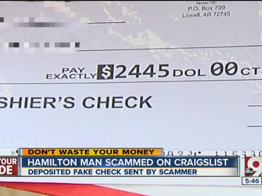 Hamilton Man Loses 2 500 To Craigslist Scam