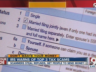 Beware of IRS scams this tax season
