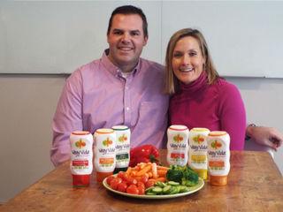 Healthy dips encourage kids to eat veggies