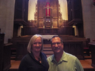 Married pastors tag-team to serve two churches