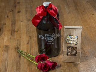 Beer lover? Try growlers instead of flowers