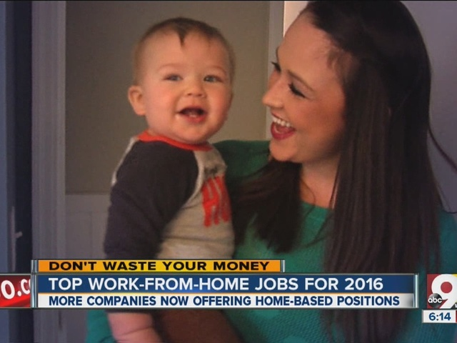 10 companies now hiring for work-from-home jobs