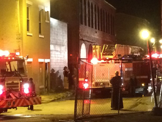 Fire closes soup kitchen, but no meals missed