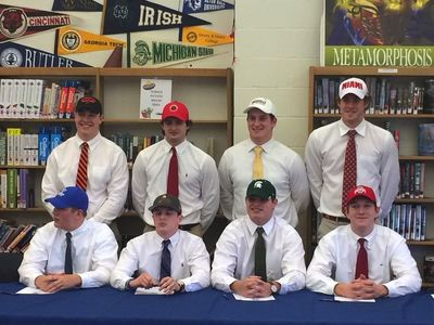 See student-athletes' big signing moments