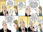 Cartoon: Misguided lawmaking