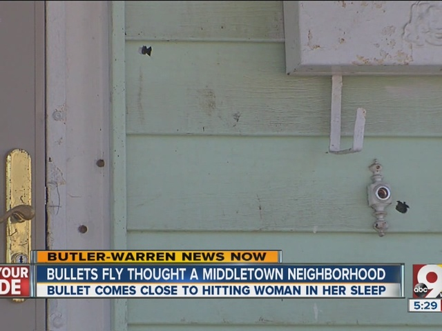 Bullets hit three homes, terrorize residents on Middletown street