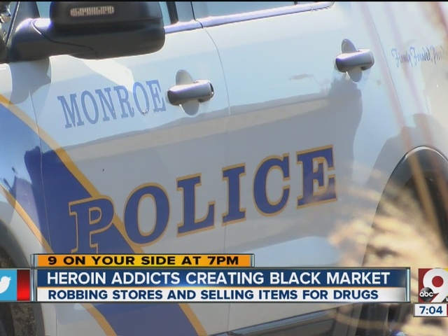 Drugs, greed drive local black market for stolen goods, police say