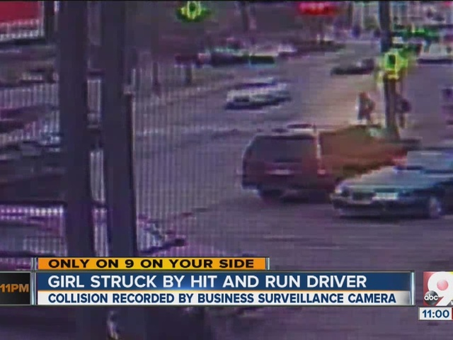 Girl in crosswalk struck by hit-and-run driver
