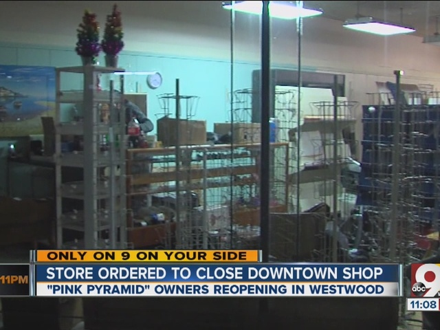Longtime Downtown adult gift shop Pink Pyramid closes, moves to Westwood