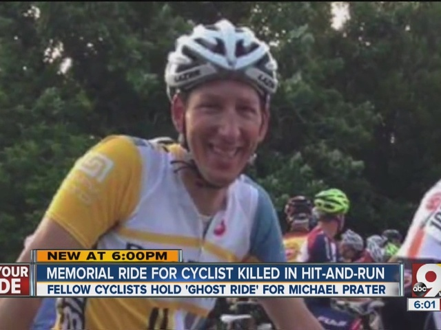 Memorial ride for cyclist killed in hit-and-run