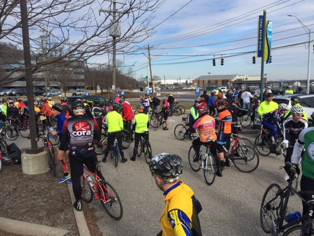 Hundreds of cyclists join memorial 'ghost ride'