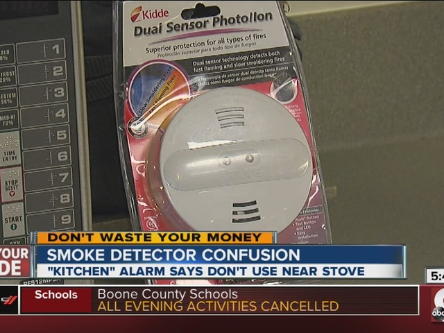 Smoke Alarm Confusion Safe For Kitchen Or Not Wcpo Cincinnati Oh