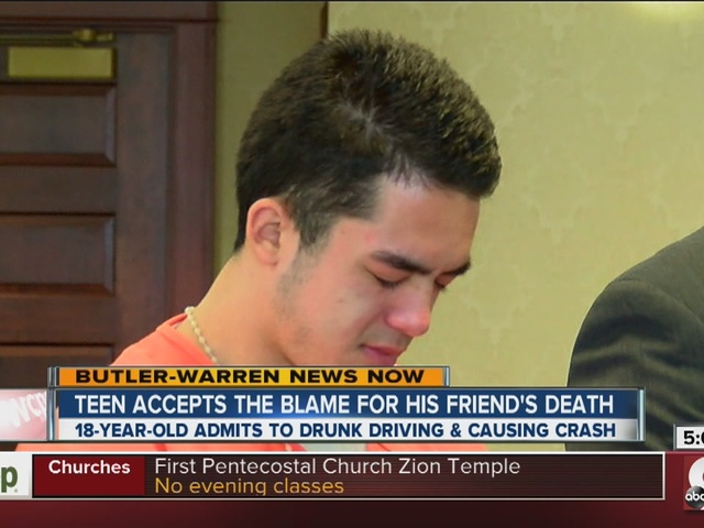 Tristan Lacey pleads guilty in crash that killed his friend, Mark Valentine