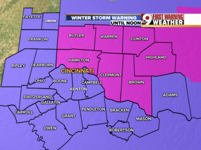 NEW: Winter storm warning