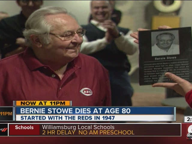 Bernie Stowe, legendary Reds clubhouse manager, dies at 80