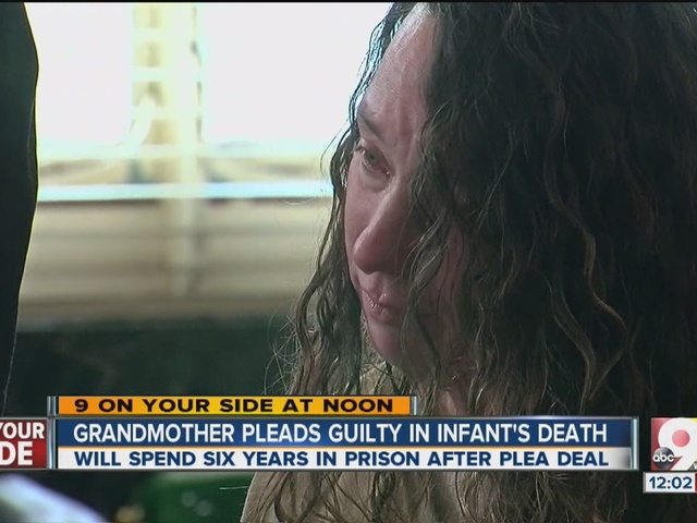 Grandmother pleads guilty in infant's death
