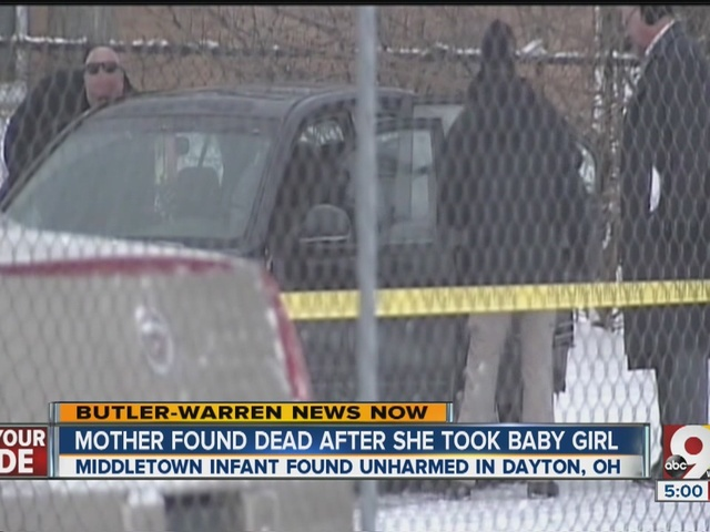 Mother found dead after she took baby girl
