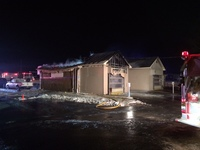 Late-night fire damages 24-hour car wash