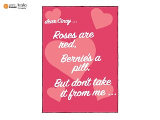 Happy Valentine's Day from Bill Clinton