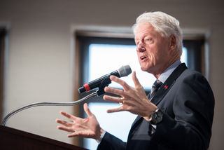 PHOTOS: Bill Clinton boosts for Hillary in Cincy