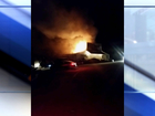 Rabbit Hash General Store catches fire