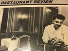 #TBT: Jean-Robert's entrée into the dining biz
