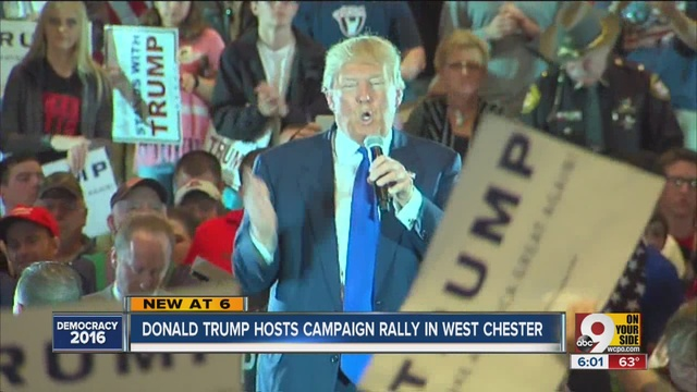 RECAP: Donald Trump holds town hall meeting in West Chester Township - WCPO Cincinnati, OH