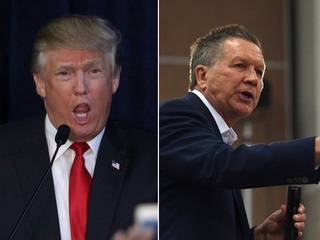 Kasich's RNC absence turns into feud with Trump