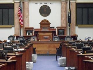 Kentucky lawmakers discuss pensions in secret