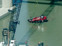 WATCH: Chopper 9 video of car raised from river