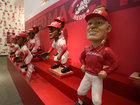 Bobblehead exhibit shaking up the Reds museum