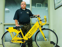 Bike sharing graduates to NKU campus