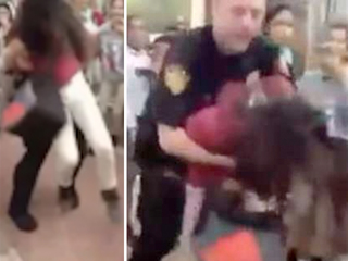 Video shows officer body slam young student