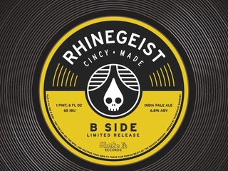Rhinegeist's B-Side IPA to rock Record Store Day