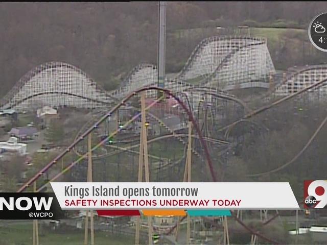 Kings Island opening for season