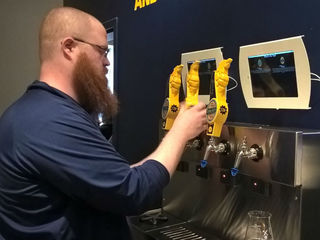 Self-serve taps remain novelty for breweries