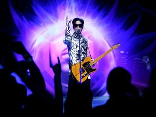 Cincy heard 'Purple Rain' before most did