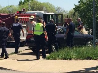 PD: Man shot up in Museum Center parking lot