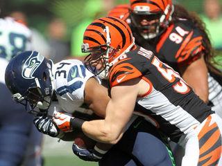 Bengals release linebacker A.J. Hawk