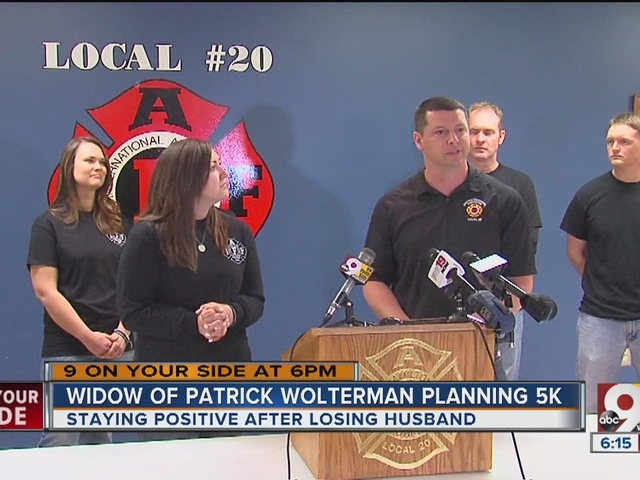 Bre Wolterman plans 5K to honor late husband's memory