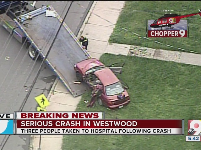 Clean-up commences in serious crash in Westwood