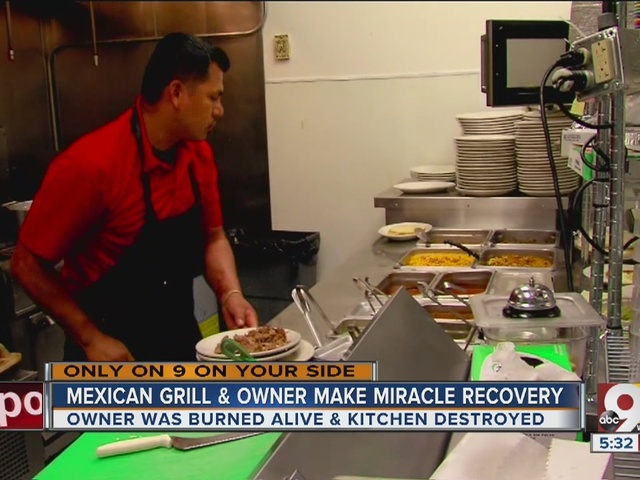 Mexican Grill and owner make miracle recovery