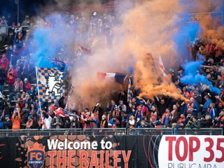 It's a wild fan experience at FC Cincy games