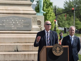 U of L to remove Confederate monument