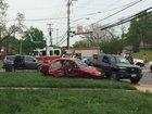 Multi-vehicle crash hospitalizes 3 in Westwood