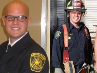 Firefighters, family honor Jordan Pieniazek