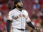 Reds rough up Cueto, but Giants rally for win