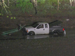 Man trying to save truck dies in flash flood